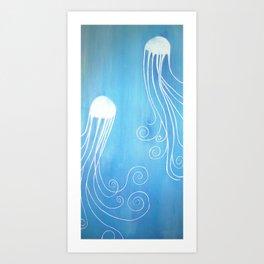 """Jellyfish Dance"" Art Print"
