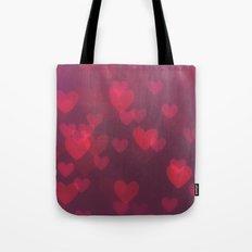Neon Valentine Tote Bag
