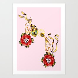Key To Muh Heart Art Print