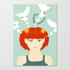 Mind Unchained Canvas Print