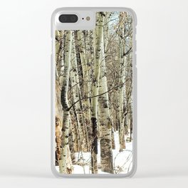 Into the Silence Clear iPhone Case