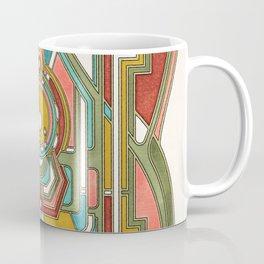 Butterfly Express - Art Nouveau Design Coffee Mug