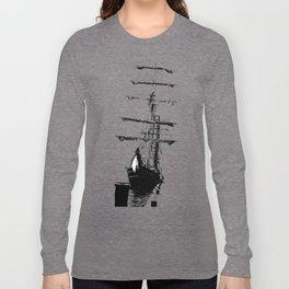 POLAR STAR blue Long Sleeve T-shirt
