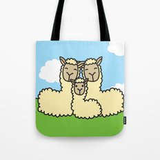 Lovely Llama's Tote Bag