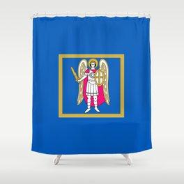 Flag of Kiev Shower Curtain