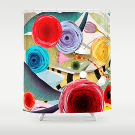 Nobody said it was easy Shower Curtain