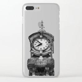 Clock Clear iPhone Case