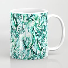 Green Tropical paradise  Mug