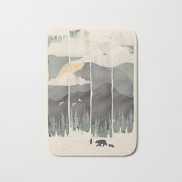 Spring Mountain Weather Bath Mat