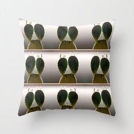 Cactus multiplication Throw Pillow