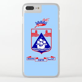 Flag of Haifa Clear iPhone Case