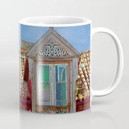 Roof Windows Abandoned House Facade Coffee Mug