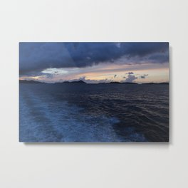 Lost Wake Metal Print