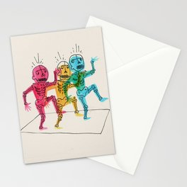 Skeletons Dancing Stationery Cards