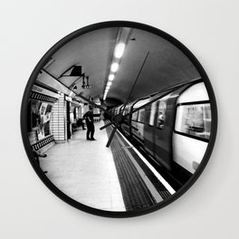Leicester Underground Line Wall Clock