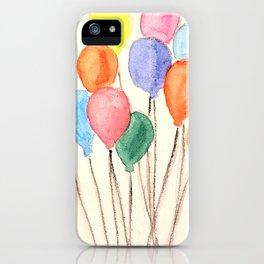 Balloon Doodle iPhone Case