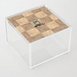 Pathchwork Owl Acrylic Box