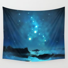 Star Gazing Wall Tapestry