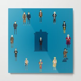 WHAT TIMELORD IS IT? Metal Print