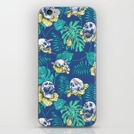 SKULLS & FLOWERS iPhone Skin