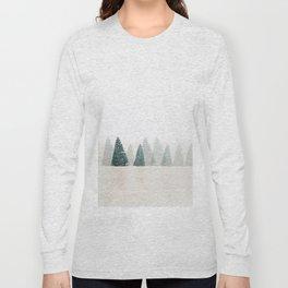 Snowy Pines Long Sleeve T-shirt