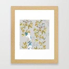Botani Swim Framed Art Print
