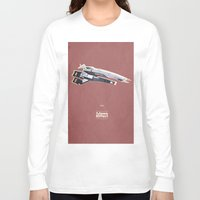 mass effect Long Sleeve T-shirts featuring Mass Effect by Simon Alenius