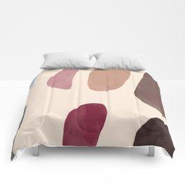 Color Stones Biege Path Comforters