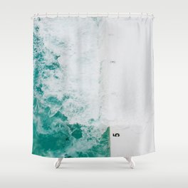 Bondi Icebergs 02 Shower Curtain