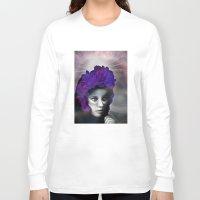 madonna Long Sleeve T-shirts featuring Schwarze Madonna by Mirko Richter Grafik