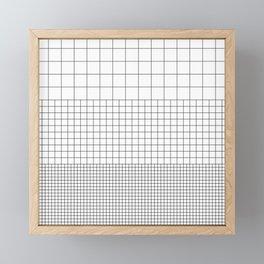 3 Grids Framed Mini Art Print