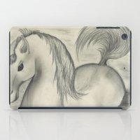 sea horse iPad Cases featuring Sea Horse by Alexandra Sutherland