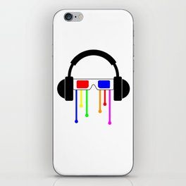 Technicolor tears  iPhone Skin
