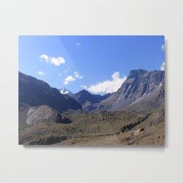 En La Cordillera de  Los Andes Metal Print