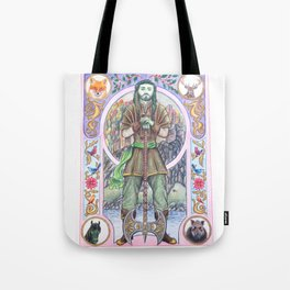The Green Knight Tote Bag