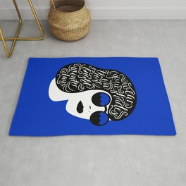 Wear Your Shades On Those Winter Days Rug