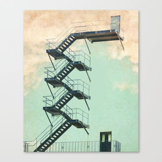 Stairway to the Clouds Canvas Print