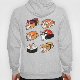 Sushi  Corgi Hoody