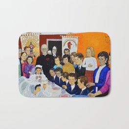 The Breakfast of the First Communion El Desayuno Juan Manuel Rocha Kinkin Bath Mat