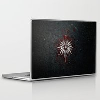 dragon age inquisition Laptop & iPad Skins featuring The Inquisition by Toronto Sol