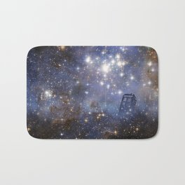Adventures in Time and Space Bath Mat