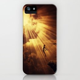 psychokinesis dark light iPhone Case