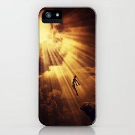 psychokinesis dark light iPhone Case