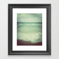 Ebb and Flow Framed Art Print