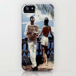 Nice Matin Photo iPhone Case