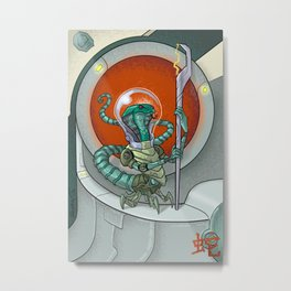 Astro Zodiac Force 06: Snake Metal Print