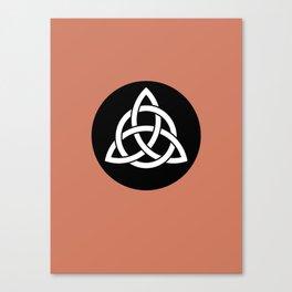 Celtic Triquetra Knot Canvas Print