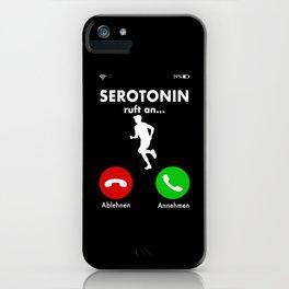 Running Marathon Runner Happiness Hormone Gift iPhone Case