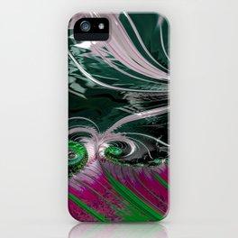 Grained Festiveness Fractal 3 iPhone Case