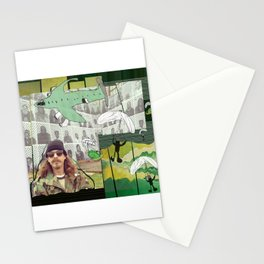 chute me Stationery Cards
